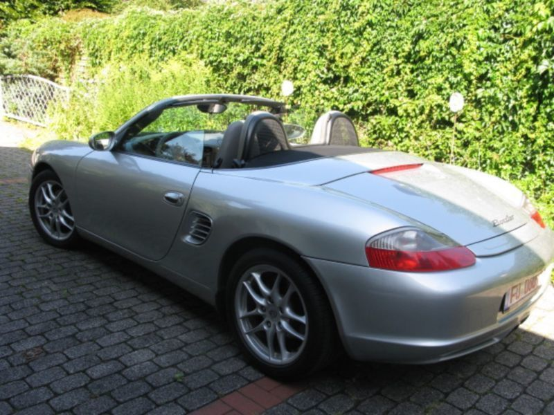 verkauft porsche boxster gebraucht 2003 km in erfurt. Black Bedroom Furniture Sets. Home Design Ideas