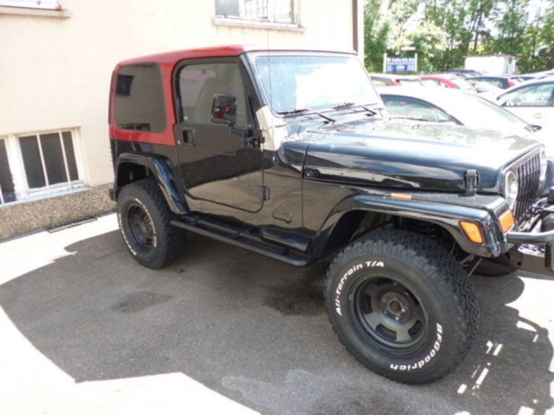 verkauft jeep wrangler cabrio mit hard gebraucht 1997 km in stuttgart zuffenh. Black Bedroom Furniture Sets. Home Design Ideas