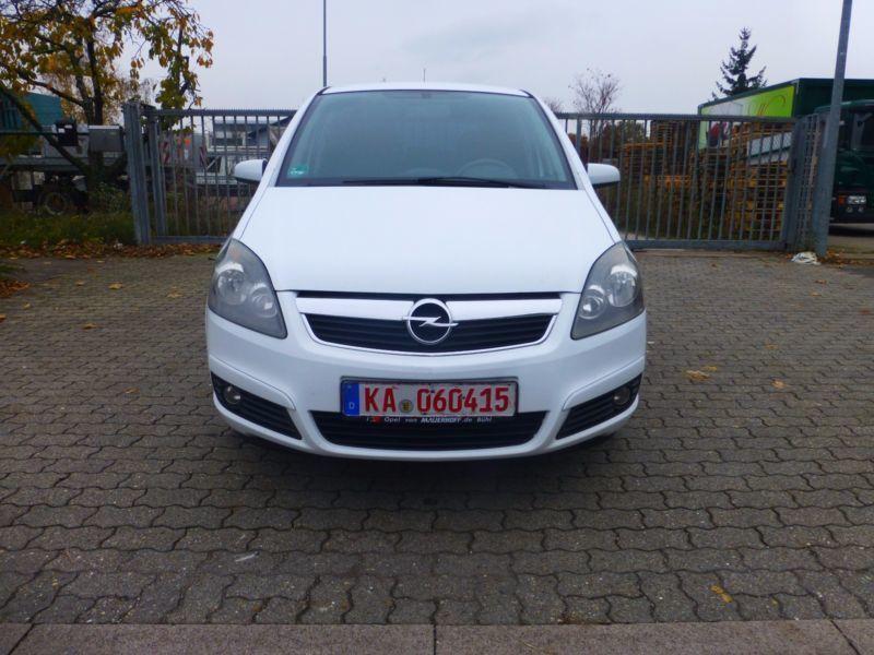 Verkauft Opel Zafira B Edition Cng Erd Gebraucht 2006 205000 Km