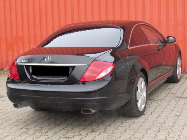 verkauft mercedes cl500 cl coupe cl 50 gebraucht 2007 km in elsdorf. Black Bedroom Furniture Sets. Home Design Ideas