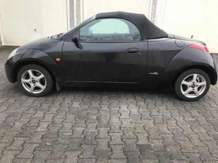verkauft ford streetka 1 6 cabrio euro gebraucht 2004 km in ramersdorf perlach. Black Bedroom Furniture Sets. Home Design Ideas
