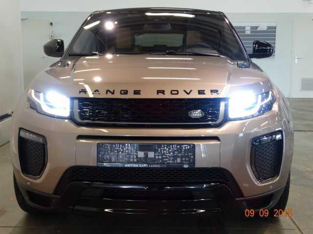 verkauft land rover range rover evoque gebraucht 2015 km in landshut. Black Bedroom Furniture Sets. Home Design Ideas