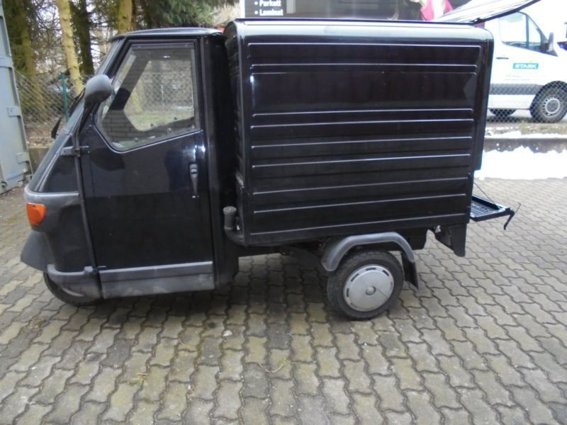 verkauft piaggio ape 50 gebraucht 2014 km in hamburg. Black Bedroom Furniture Sets. Home Design Ideas