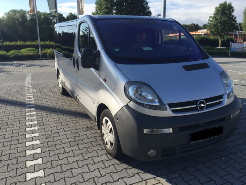 verkauft opel vivaro 2 5 cdti l1h1 lif gebraucht 2004 km in bottrop. Black Bedroom Furniture Sets. Home Design Ideas