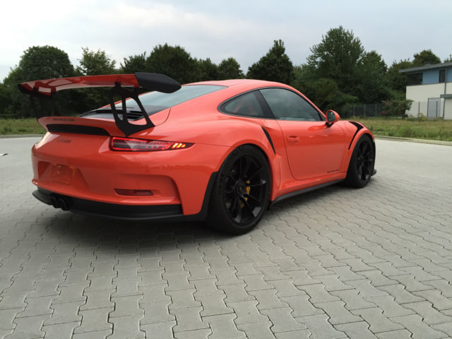 verkauft porsche 911 gt3 rs 911 gebraucht 2016 150 km in hamburg. Black Bedroom Furniture Sets. Home Design Ideas