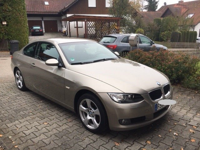 verkauft bmw 320 3er coupe gebraucht 2007 km in mauern. Black Bedroom Furniture Sets. Home Design Ideas