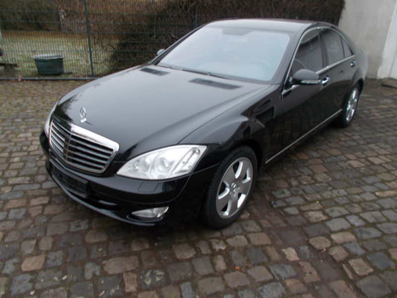 verkauft mercedes s500 s klasse lim gebraucht 2007 km in bochum. Black Bedroom Furniture Sets. Home Design Ideas