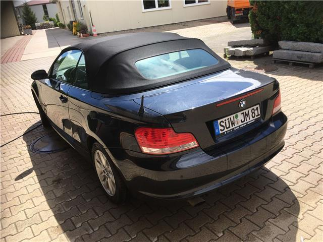 verkauft bmw 118 cabriolet 1er gebraucht 2009 km. Black Bedroom Furniture Sets. Home Design Ideas