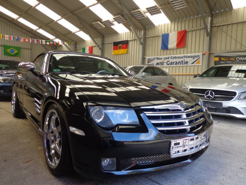 verkauft chrysler crossfire roadster a gebraucht 2004 km in essen. Black Bedroom Furniture Sets. Home Design Ideas