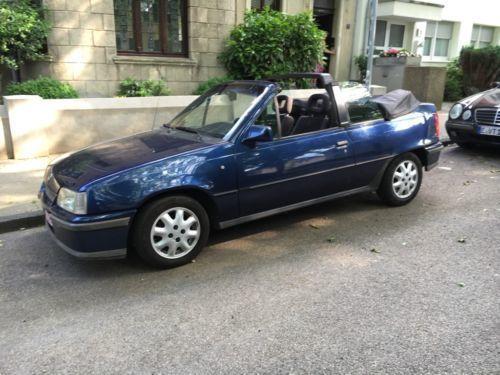 verkauft opel kadett cabrio 1 6i euro2 gebraucht 1993 km in essen kray. Black Bedroom Furniture Sets. Home Design Ideas