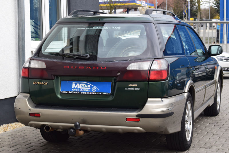 verkauft subaru outback 2 5 4wd gebraucht 2001 km in heuchelheim. Black Bedroom Furniture Sets. Home Design Ideas
