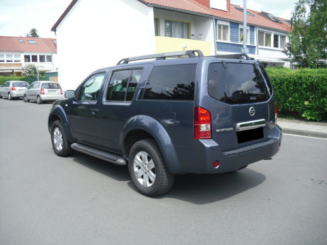 verkauft nissan pathfinder 2 5 dci aut gebraucht 2005. Black Bedroom Furniture Sets. Home Design Ideas