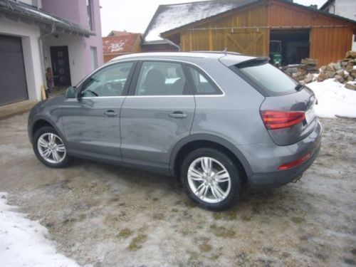 verkauft audi q3 2 0 tdi 103 140 kw p gebraucht 2014 km in kinding haunste. Black Bedroom Furniture Sets. Home Design Ideas