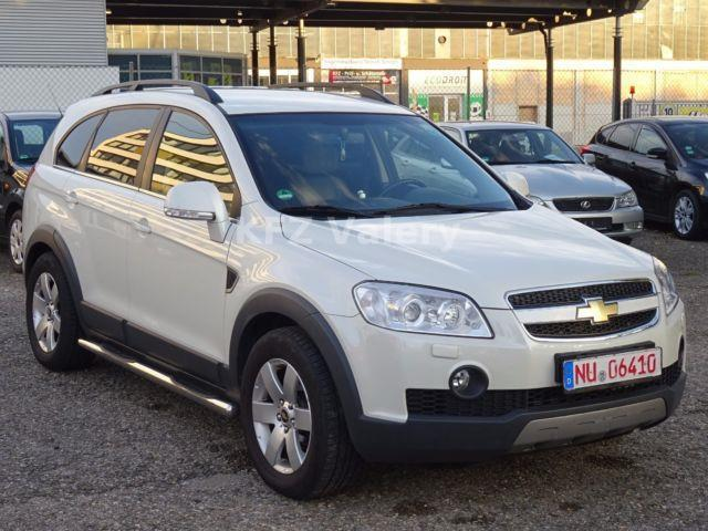 verkauft chevrolet captiva 2 0 cdti 4w gebraucht 2009. Black Bedroom Furniture Sets. Home Design Ideas