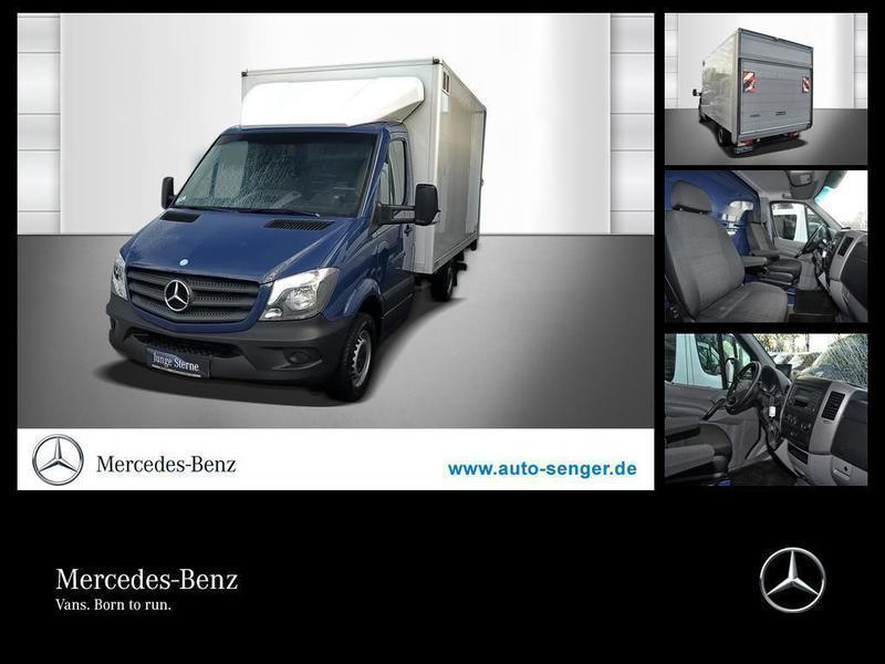 gebraucht Mercedes Sprinter 316CDI KOFFER+DACHSPOILER+LBW+BLUETOOTH