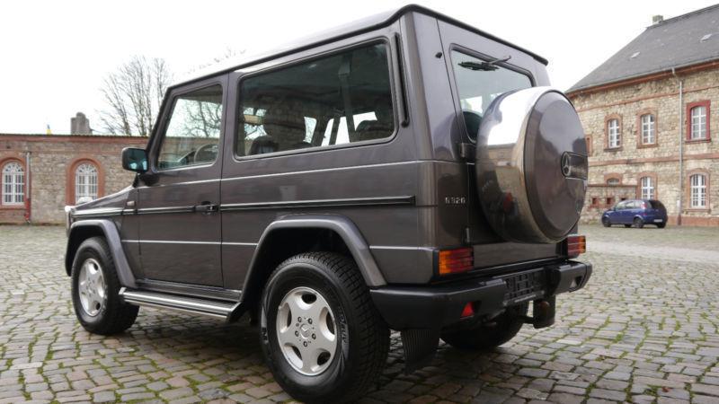 verkauft mercedes g320 g modell statio gebraucht 1995 km in mainz kastel. Black Bedroom Furniture Sets. Home Design Ideas