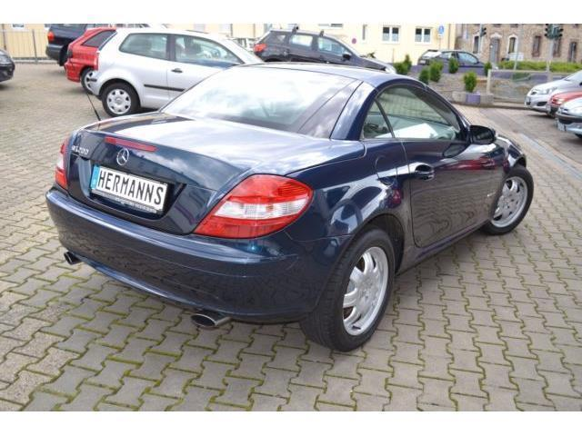 verkauft mercedes slk200 slk kompresso gebraucht 2007 km in eschweiler. Black Bedroom Furniture Sets. Home Design Ideas
