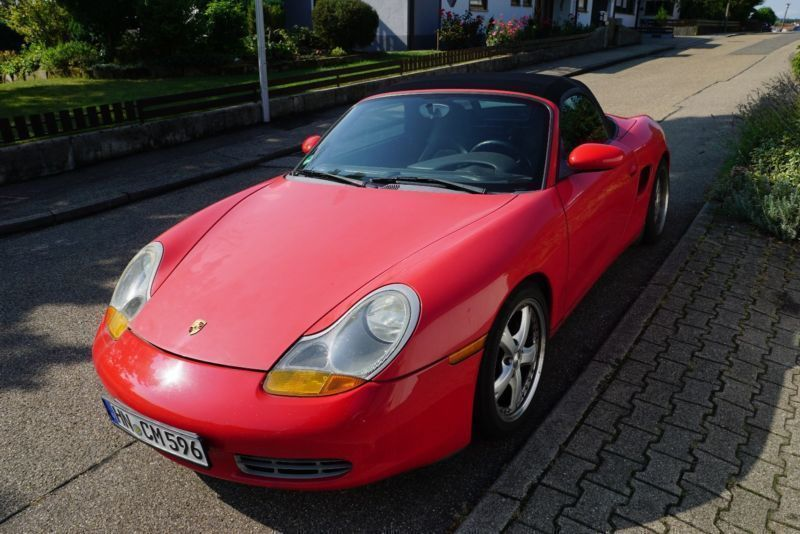 verkauft porsche boxster gebraucht 1997 km in abstatt. Black Bedroom Furniture Sets. Home Design Ideas