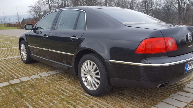 verkauft vw phaeton 4 2 v8 lpg gasanla gebraucht 2004. Black Bedroom Furniture Sets. Home Design Ideas
