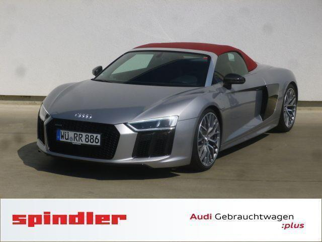 gebraucht 5 2 fsi individual quattro s tronic audi r8 spyder 2017 km in w rzburg. Black Bedroom Furniture Sets. Home Design Ideas