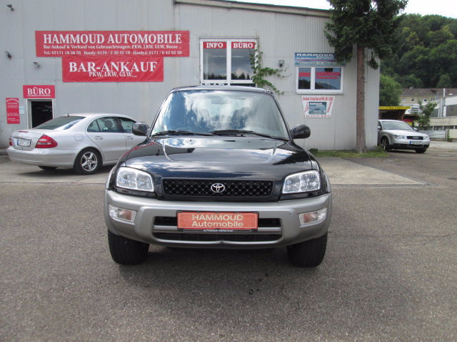 verkauft toyota rav4 fun gebraucht 1999 km in rudolstadt. Black Bedroom Furniture Sets. Home Design Ideas
