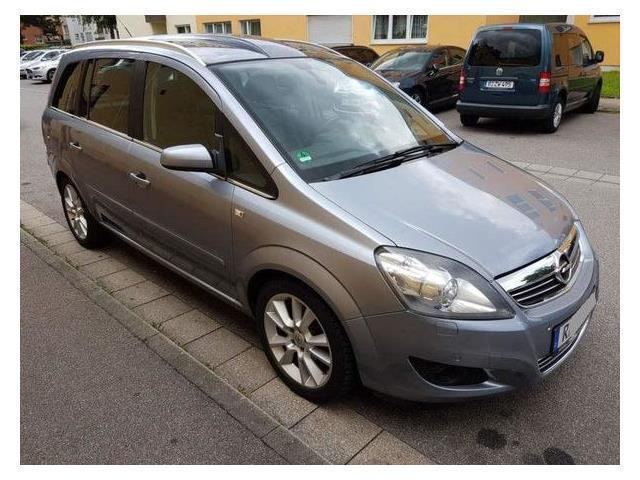 verkauft opel zafira gebraucht 2008 km in. Black Bedroom Furniture Sets. Home Design Ideas