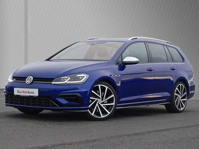 Verkauft VW Golf Variant R R 4Motion G., gebraucht 2018 ...