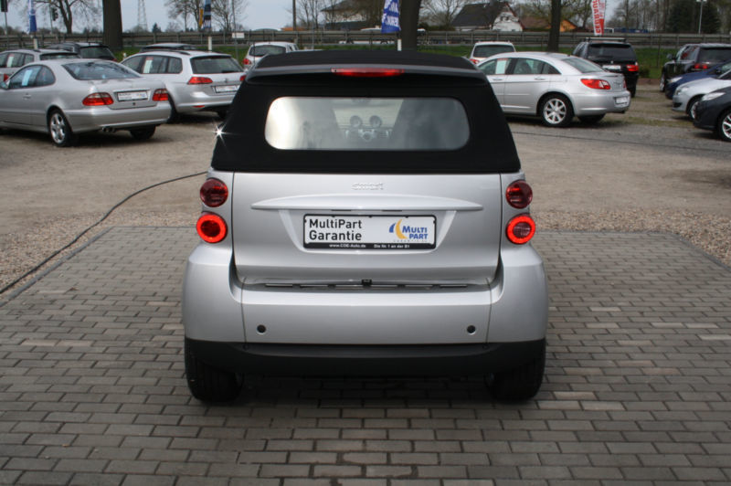 verkauft smart fortwo cabrio softouch gebraucht 2008 km in heilbronn. Black Bedroom Furniture Sets. Home Design Ideas