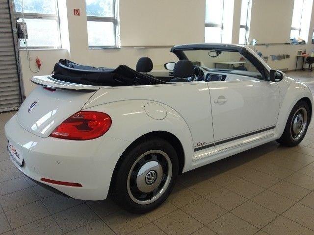verkauft vw beetle cabrio 1 2 tsi cup gebraucht 2015. Black Bedroom Furniture Sets. Home Design Ideas