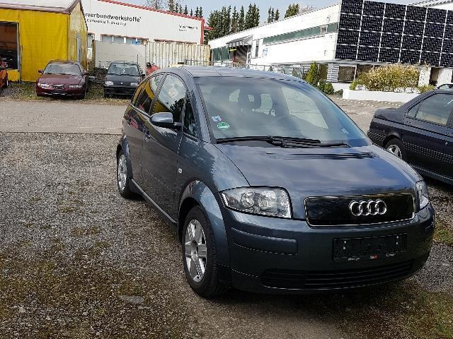 verkauft audi a2 1 4 tdi gebraucht 2002 km in kelsterbach. Black Bedroom Furniture Sets. Home Design Ideas