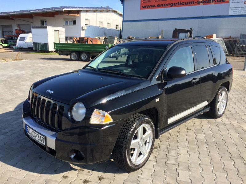 verkauft jeep compass 2 0 crd limited gebraucht 2007 km in hochdorf ri. Black Bedroom Furniture Sets. Home Design Ideas