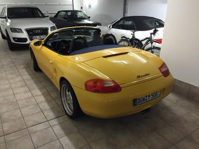verkauft porsche boxster neues verdeck gebraucht 1998 km in gr nstadt. Black Bedroom Furniture Sets. Home Design Ideas