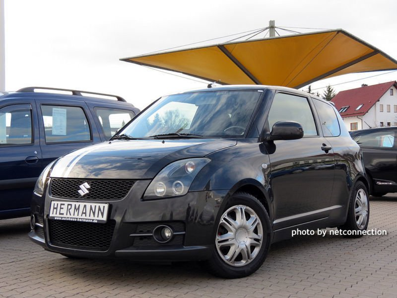 verkauft suzuki swift 1 6 sport gebraucht 2009 km in passau. Black Bedroom Furniture Sets. Home Design Ideas