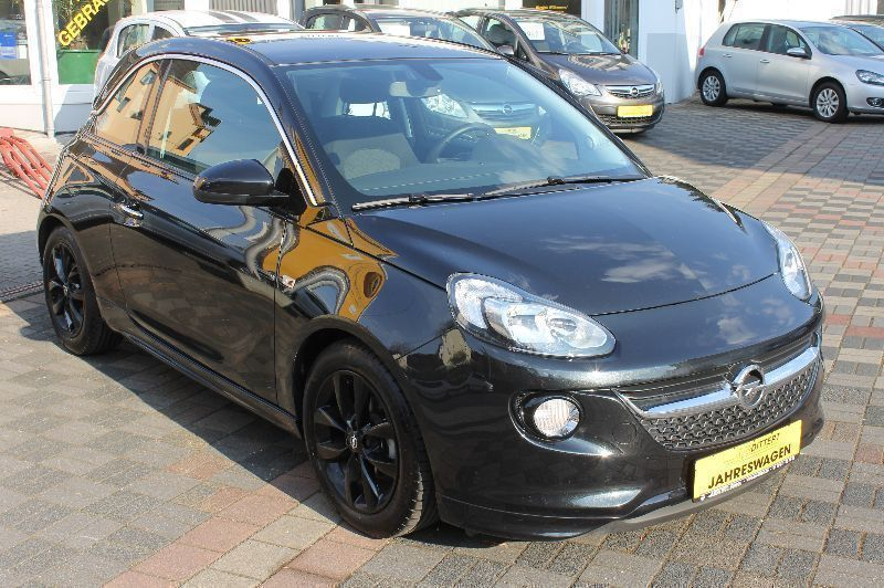 verkauft opel adam jam aktion gebraucht 2014 km. Black Bedroom Furniture Sets. Home Design Ideas