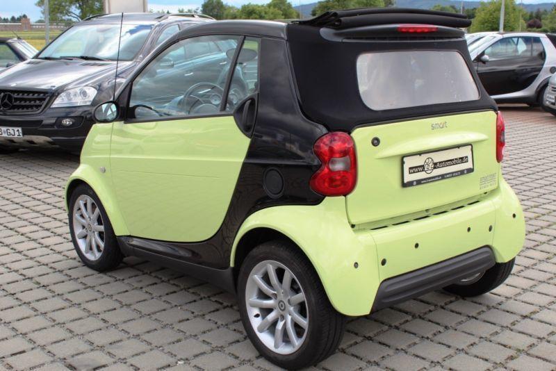 smart cabrio gebraucht smart cabrio gebrauchtwagen und. Black Bedroom Furniture Sets. Home Design Ideas