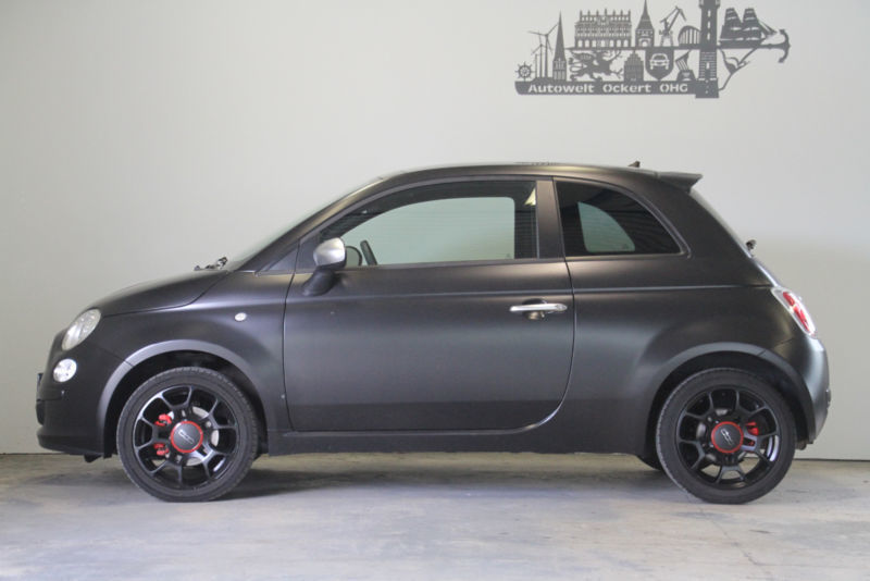 verkauft fiat 500 1 4 16v rock star gebraucht 2012 km in kassel. Black Bedroom Furniture Sets. Home Design Ideas