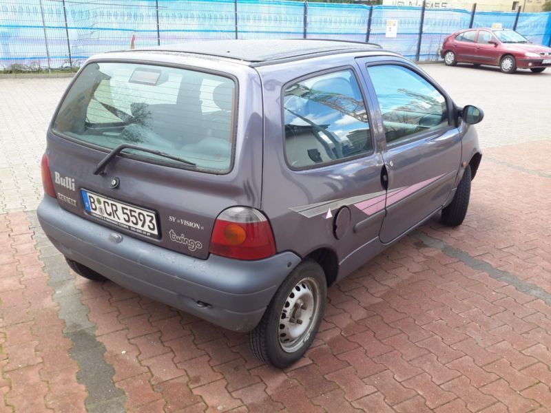 gebraucht 1 3 renault twingo 1995 km in schongau. Black Bedroom Furniture Sets. Home Design Ideas