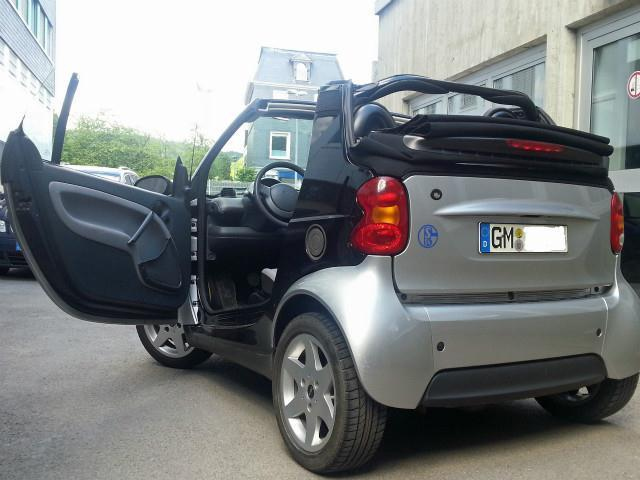 verkauft smart fortwo cabrio cdi hu 5 gebraucht 2002. Black Bedroom Furniture Sets. Home Design Ideas
