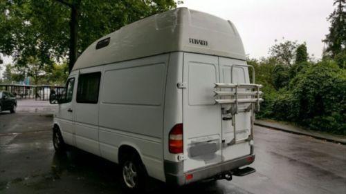 verkauft mercedes sprinter 312d wohnmo gebraucht 1996 km in m nster. Black Bedroom Furniture Sets. Home Design Ideas
