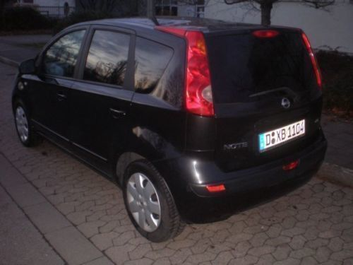 verkauft nissan note 1 5 dci more gebraucht 2008 km in bezirk. Black Bedroom Furniture Sets. Home Design Ideas