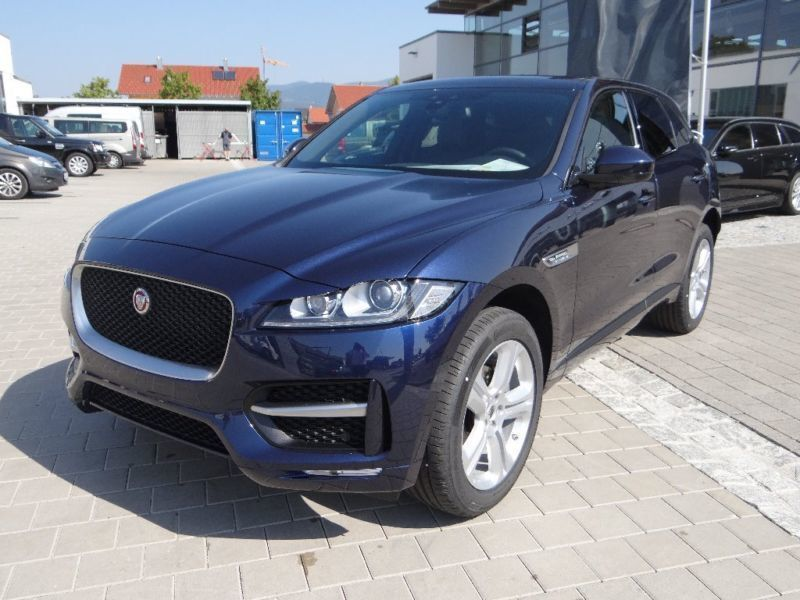 verkauft jaguar f pace 20d awd r sport gebraucht 2017 5. Black Bedroom Furniture Sets. Home Design Ideas