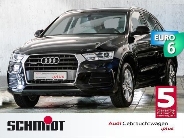 verkauft audi q3 2 0 tdi xenon navi pd gebraucht 2016. Black Bedroom Furniture Sets. Home Design Ideas