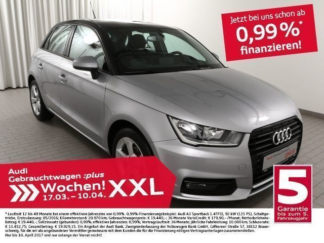 gebraucht Audi A1 Sportback 1.0TFSi (Einparkhilfe)