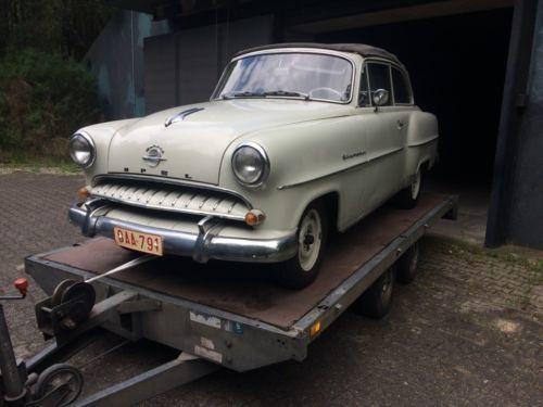 verkauft opel olympia rekord cabrio gebraucht 1954 38. Black Bedroom Furniture Sets. Home Design Ideas