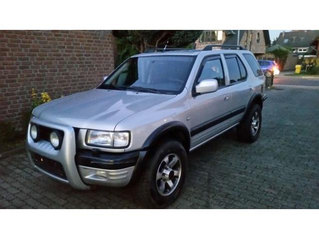 verkauft opel frontera b 3 2 v6 limited gebraucht 2000 km in steinfeld. Black Bedroom Furniture Sets. Home Design Ideas