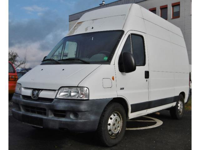 verkauft peugeot boxer hdi 2 8l hoch u gebraucht 2003 km in magdeburg. Black Bedroom Furniture Sets. Home Design Ideas