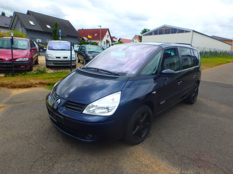 verkauft renault espace 2 0 dci fap eu gebraucht 2008 km in hungen. Black Bedroom Furniture Sets. Home Design Ideas