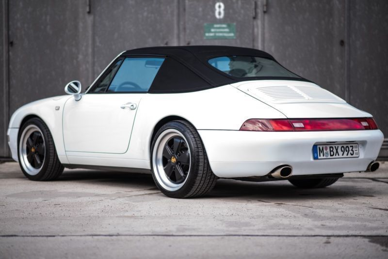 verkauft porsche 993 cabrio tiptronik gebraucht 1997 km in gr felfing. Black Bedroom Furniture Sets. Home Design Ideas