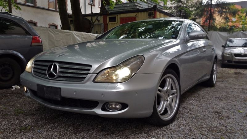 verkauft mercedes cls320 cdi dpf 7g tr gebraucht 2005 km in berlin. Black Bedroom Furniture Sets. Home Design Ideas