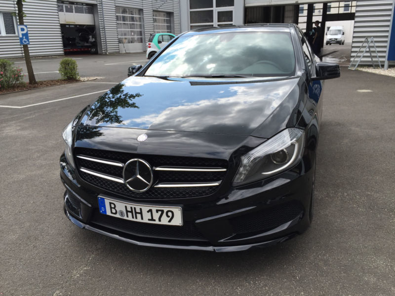 verkauft mercedes a180 amg line gebraucht 2015 km. Black Bedroom Furniture Sets. Home Design Ideas